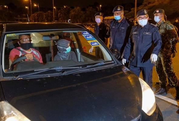 PKP : Polis KL tambah 4 sekatan jalan raya di daerah Dang Wangi dan Brickfields