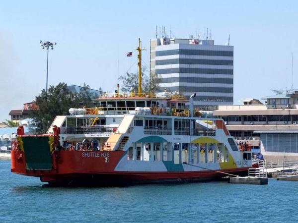 Henti feri penumpang, bot laju di Labuan dilanjut ke 14 April
