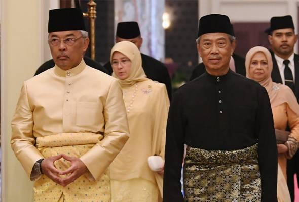 Muhyiddin tiba di Istana Negara, menghadap Agong