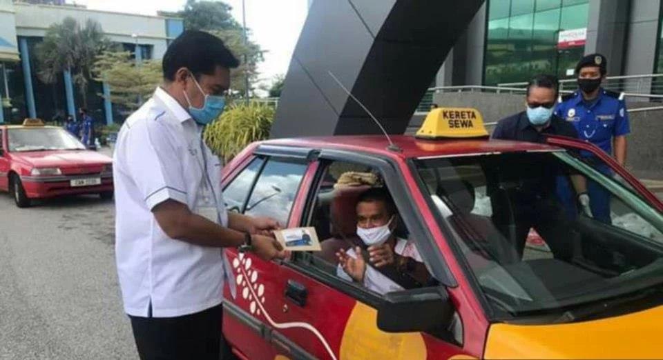 271 pemandu teksi terima bantuan secara pandu lalu – MB Pahang