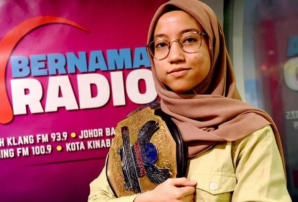 Ahli gusti Malaysia Nor 'Phoenix' Diana tersenarai dalam Forbes '30 Under 30 Asia'
