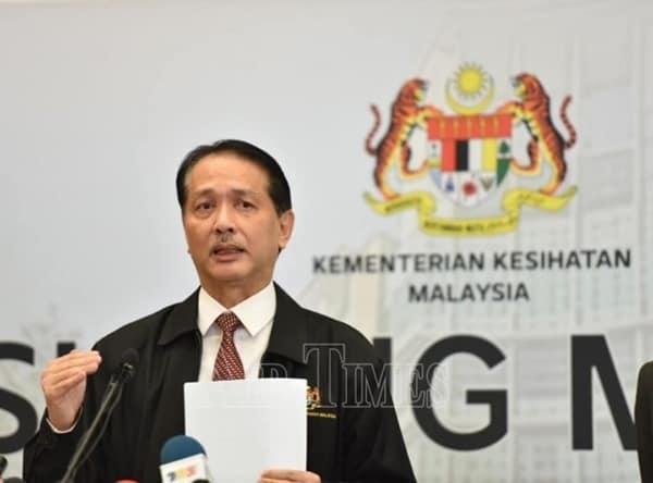 Covid-19:15 kes baharu di kawasan PKPD Kuala Lumpur -Noor Hisham Abdullah