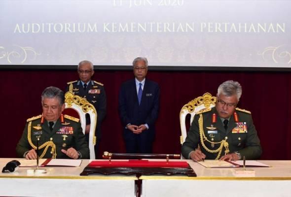 Zamrose dilantik Panglima Tentera Darat yang baharu
