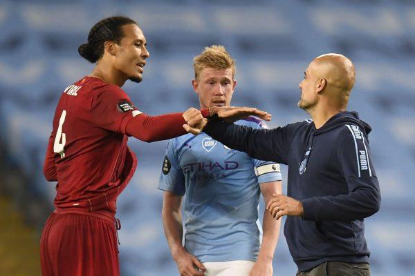 Manchester City belasah juara liga Liverpool 4-0