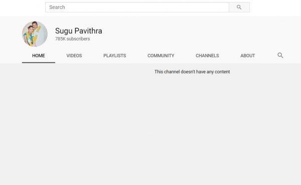 Sugu Pavithra tidak mahu ada kaitan lagi dengan YouTube