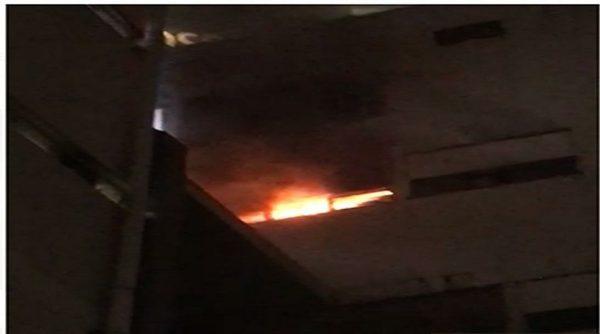 Bilik stor Hospital KL terbakar