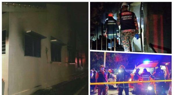Lelaki warga emas rentung dalam kebakaran rumah teres