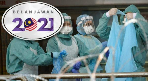 Belanjawan 2021: Pemberian one-off RM500 kepada 100,000 petugas kesihatan