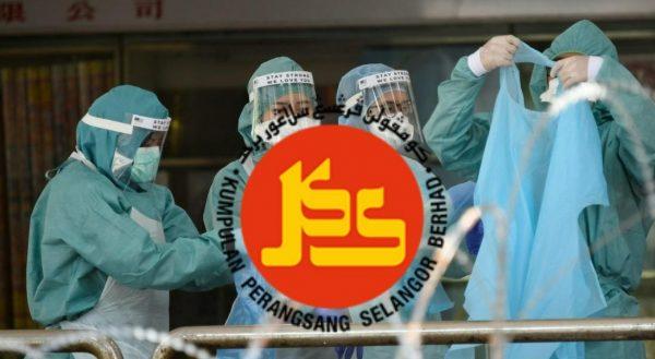 KPS sumbang PPE kepada petugas barisan hadapan di Klinik Kesihatan Kelana Jaya