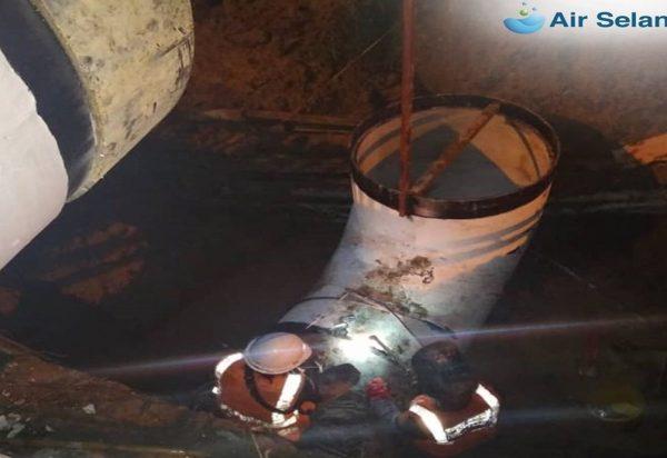 Air Selangor: 67 per cent of burst pipe repair works in Damansara Utama completed