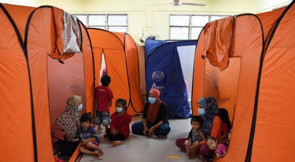 40 mangsa banjir di Hulu Selangor ditempatkan di pusat pemindahan