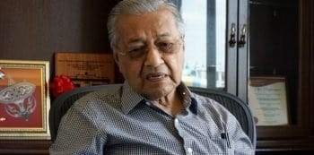 'Dr Mahathir not hospitalised'