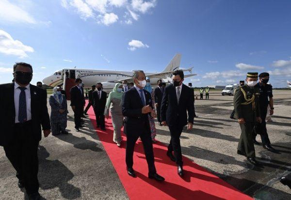 Muhyiddin selamat tiba di Brunei untuk lawatan rasmi