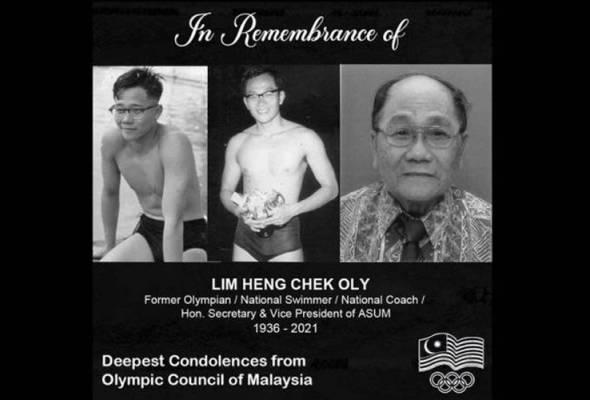 Bekas perenang kebangsaan meninggal dunia