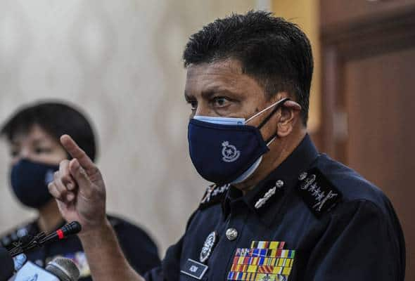 Polis sahkan terima laporan wakil Istana Negara